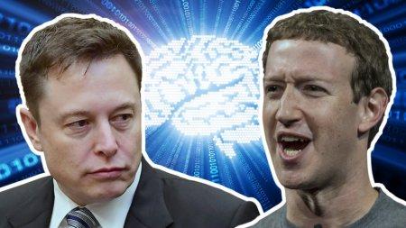 Споры Марка Цукерберга и Илон  Маска