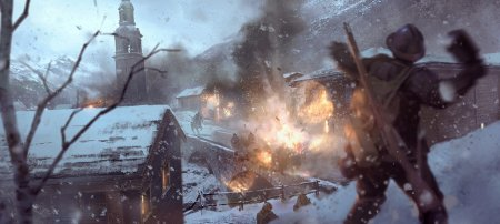 18 минут геймплея Battlefield 1 на карте