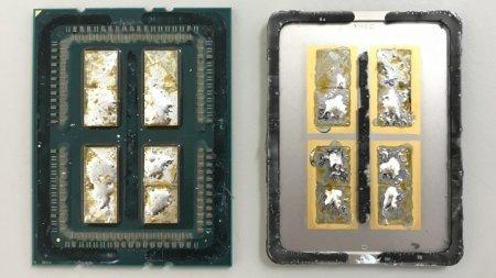 Энтузиаст обнаружил под крышкой чипа Ryzen Threadripper дополнительные модули