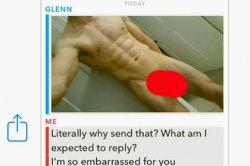Модель переслала голые фото надоедливого пользователя его матери