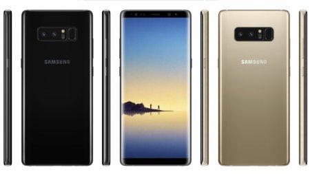 Samsung Galaxy Note 8 поступит в продажу 15 сентября