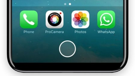 iPhone 8 получит виртуальную кнопку Home
