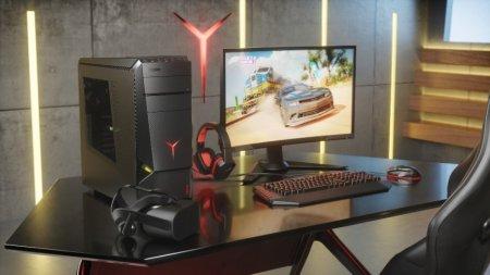 Lenovo представила игровые десктопы и монитор серии Legion на gamescom 2017