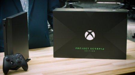Предзаказы на Xbox One X: Project Scorpio Edition разошлись меньше чем за день