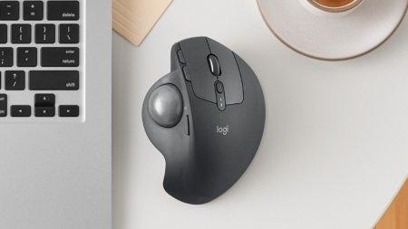 Мышь Logitech MX Ergo оснащена трекболом