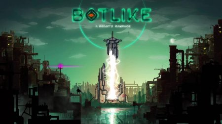 Botlike - a robot's rampage GamePlay PC