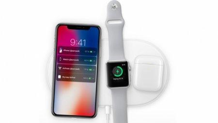 Apple представила беспроводное зарядное устройство AirPower