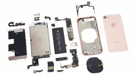 iPhone 8 оказался менее ремонтопригодным, чем iPhone 7