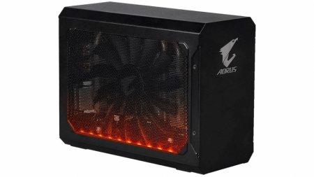 Gigabyte представила док-станцию Aorus GTX 1080 Gaming Box