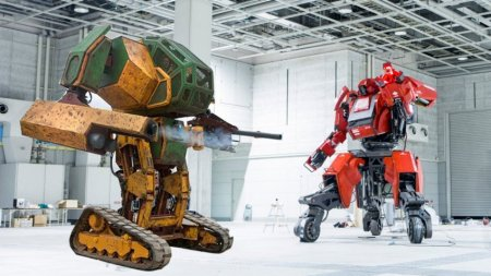 MegaBots и Suidobashi назначили дату дуэли боевых роботов