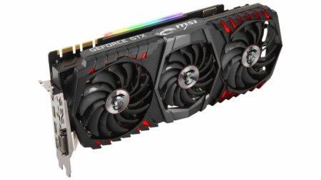 Видеокарта MSI GeForce GTX 1080 Ti Gaming X Trio весит 1,5 кг