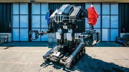 Американский Mk. III победил в первой битве боевых человекоподобных роботов