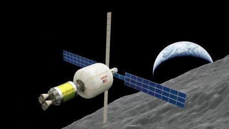 Частные компании выведут надувной жилой модуль на орбиту Луны