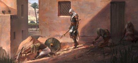 Сравнение графики Assassin's Creed Origins