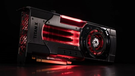 NVIDIA представила видеокарты Titan Xp Star Wars Edition