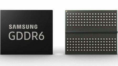 У Samsung готовы чипы памяти GDDR6