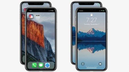 Владельцам iPhone X предложили убрать вырез на экране смартфона