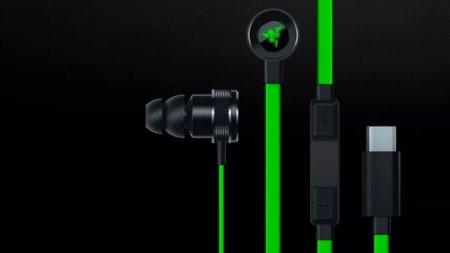 Razer представила наушники Hammerhead с разъёмом USB-C