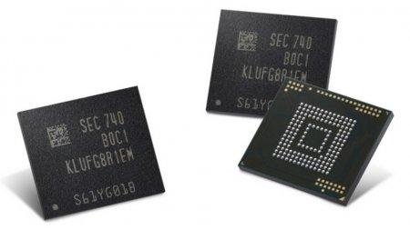Samsung выпустила модули памяти объёмом 512 ГБ для смартфонов