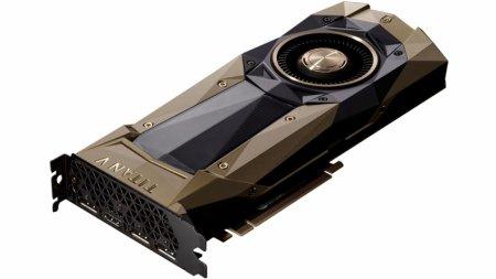 NVIDIA анонсировала Titan V на архитектуре Volta