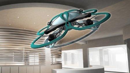 В Японии создали дрона, который будет выгонять людей с работы
