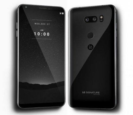 LG представила смартфон за $1800