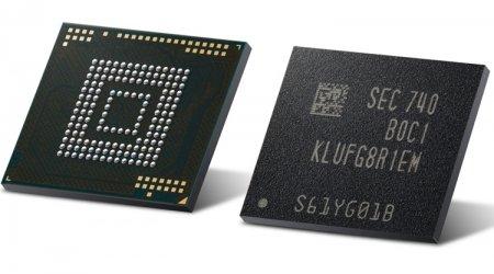 В Samsung начат выпуск первых модулей eUFS ёмкостью 512 Гбайт для смартфонов