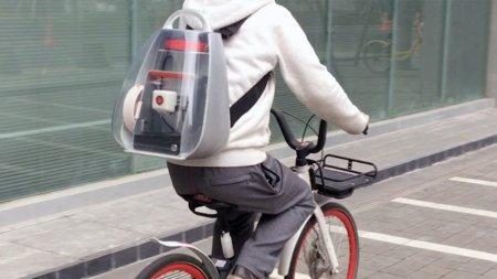 Китайцы сделали рюкзак, позволяющий пользоваться 3D-принтером на ходу