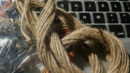 Британский инженер провёл интернет по мокрой верёвке