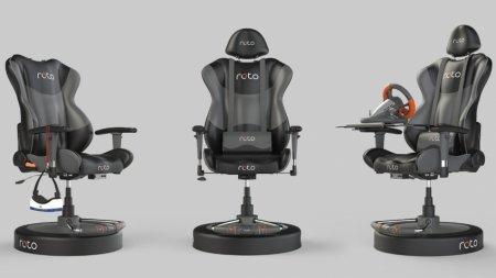 Кресло виртуальной реальности Roto VR выйдет в начале 2018 года