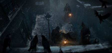 Стелс в новом геймпленом ролике The Church in the Darkness