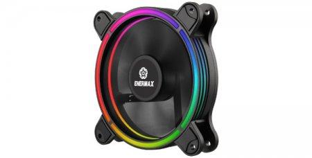 Корпусной вентилятор Enermax T.B. RGB наделён уникальной подсветкой