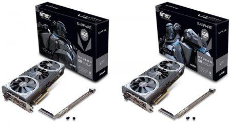 Sapphire представила дуэт видеокарт Radeon RX Vega 56/64 Nitro+