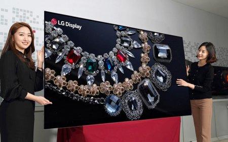 LG представила первый в мире 88-дюймовый OLED-дисплей 8K