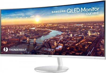 Новый изогнутый QLED-монитор Samsung оснащён Thunderbolt 3