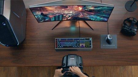 Монитор Alienware AW3418HW поддерживает частоту обновления 160 Гц