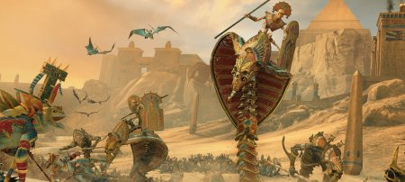 11 минут геймплея Total War: Warhammer 2 — Rise of the Tomb Kings