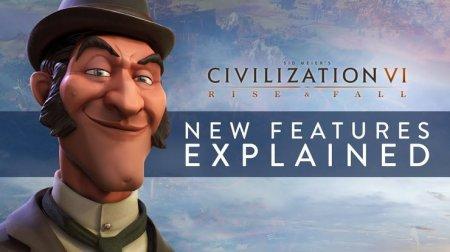 Трейлер новых особенностей Civilization 6: Rise And Fall