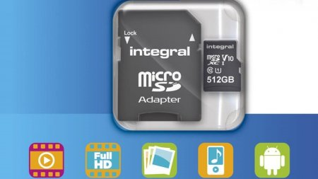 Integral Memory готовит карту памяти micro-SD объёмом 512 ГБ