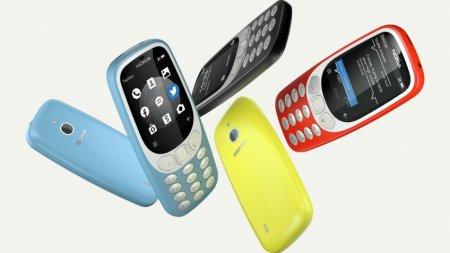 HMD Global представила 4G-версию Nokia 3310 на базе Android