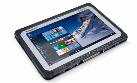 Panasonic Toughbook CF-20 mk2: защищённый ноутбук-трансформер работает 17 часов без розетки