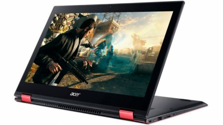 Ультрабук-трансформер Acer Nitro 5 Spin поступил в продажу