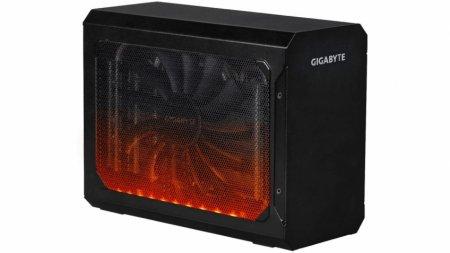 Gigabyte представила док-станцию для видеокарты Aorus RX 580 Gaming Box