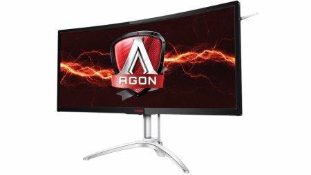 Игровой монитор AOC Agon AG352UCG6 поддерживает частоту 120 Гц