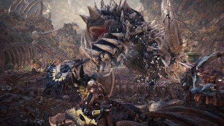 Трейлер с новым монстром и режимом для Monster Hunter: World