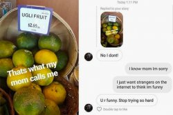 Смущенная шуткой про «уродливого» сына мать растрогала интернет