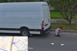 Житель Пскова справил нужду на дороге и угодил на панораму «Яндекса»