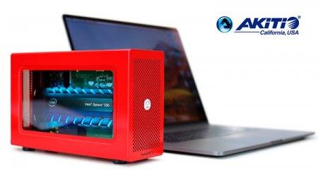 Akitio Special Edition Node Lite: внешний накопитель на основе Intel Optane