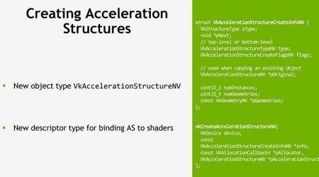 NVIDIA работает над трассировкой лучей для Vulkan