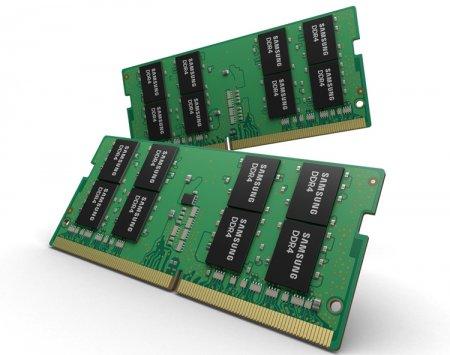 В Samsung начат выпуск передовых 32-Гбайт модулей DDR4 для игровых ноутбуков